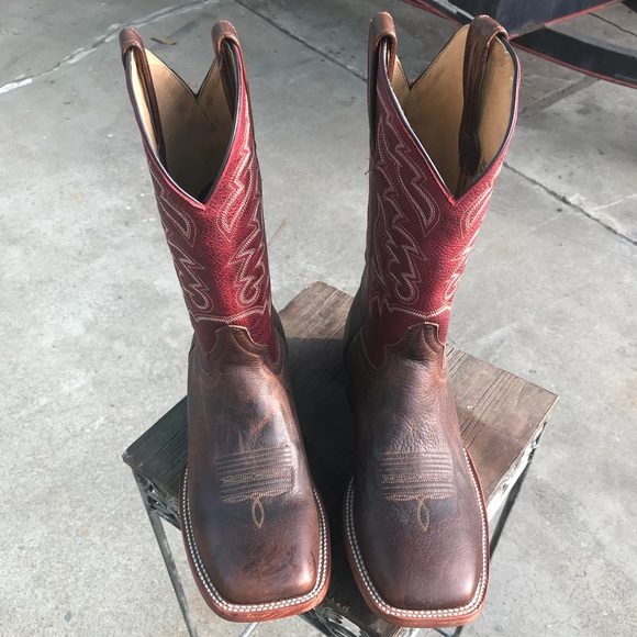 Western Boots Square Toe